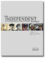 Independent Budget FY 2012 cover